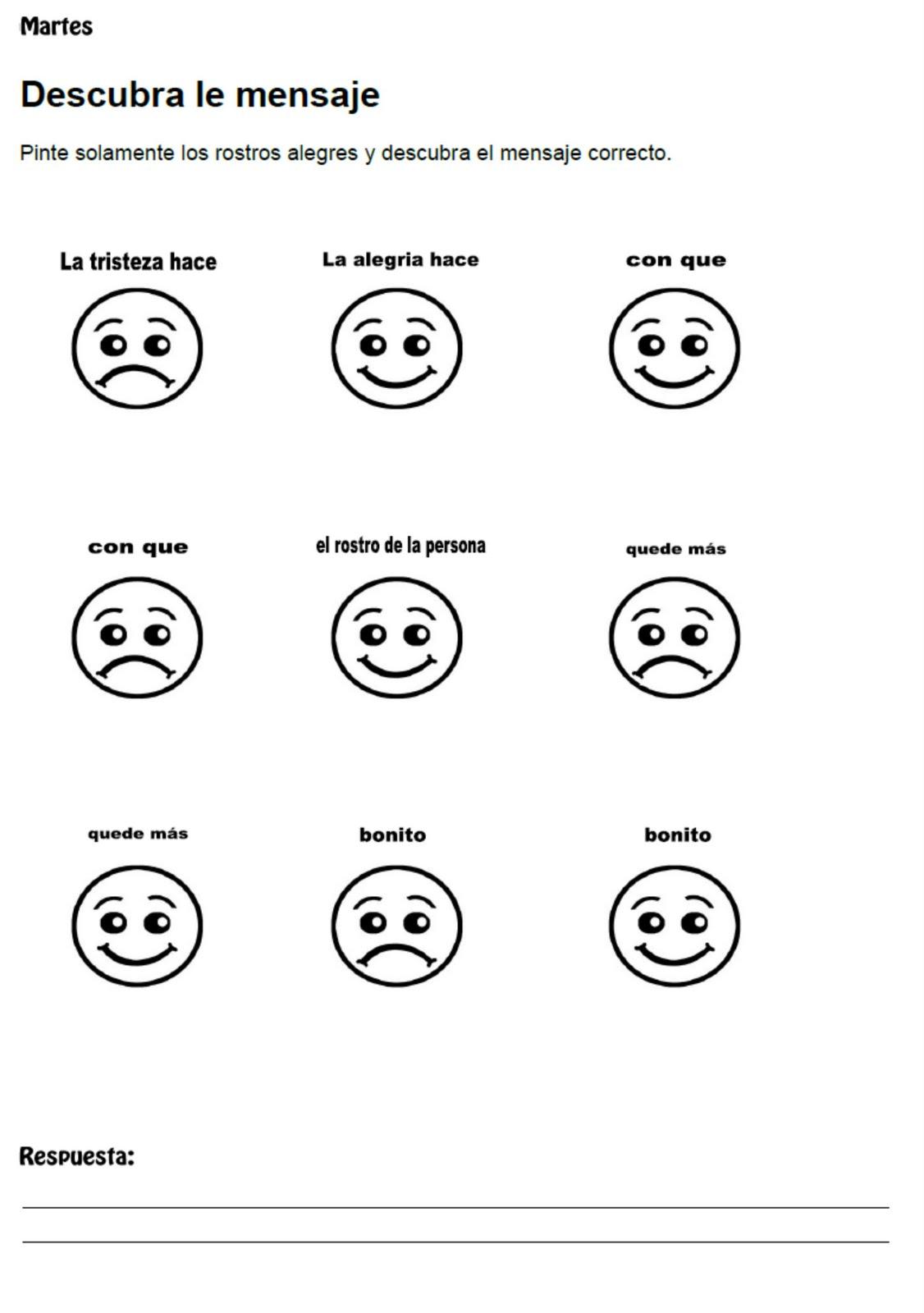 Dibujos de caritas felices y tristes para colorear - Imagui