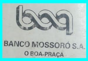 LOGOMARCA DO BANCO MOSSORÓ