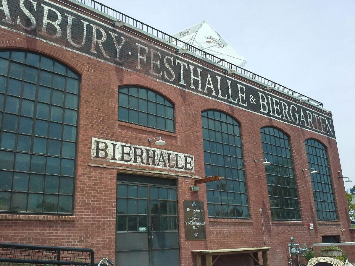 asbury festhalle biergarten is definitely worth a trip to asbury park nj at first i wondered why they choose lake avenue instead of the busier and - Asbury Park Beer Garden
