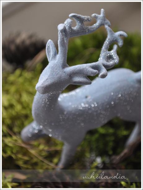 boże narodzenie - dekoracje świąteczne jelonek / christmas decoration