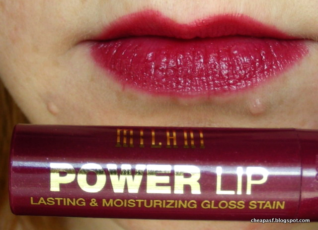 Milani Power Lip Lasting & Moisturizing Gloss Stain in Cabernet Blend