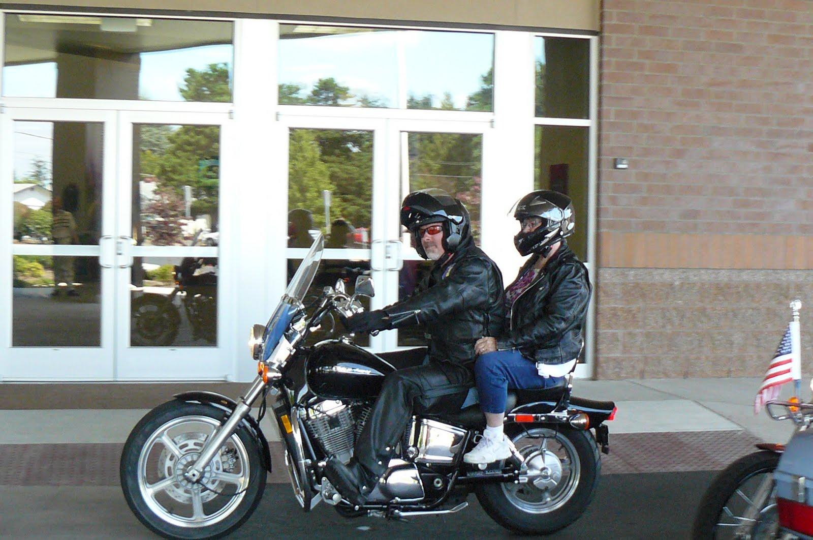 Yakkin with Flo: biker chick