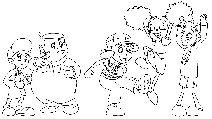 Holiday Coloring Pages  Chavo Del Ocho Coloring Pages  Free
