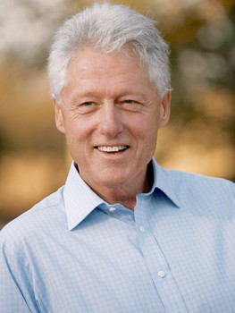 BILL CLINTON IS NOT FAT!! anymore