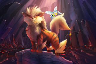 Arcanine and Beedrill