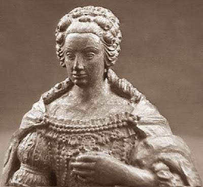 Quinto juego de ajedrez, Isabel Cristina de Brunswick, reina negra