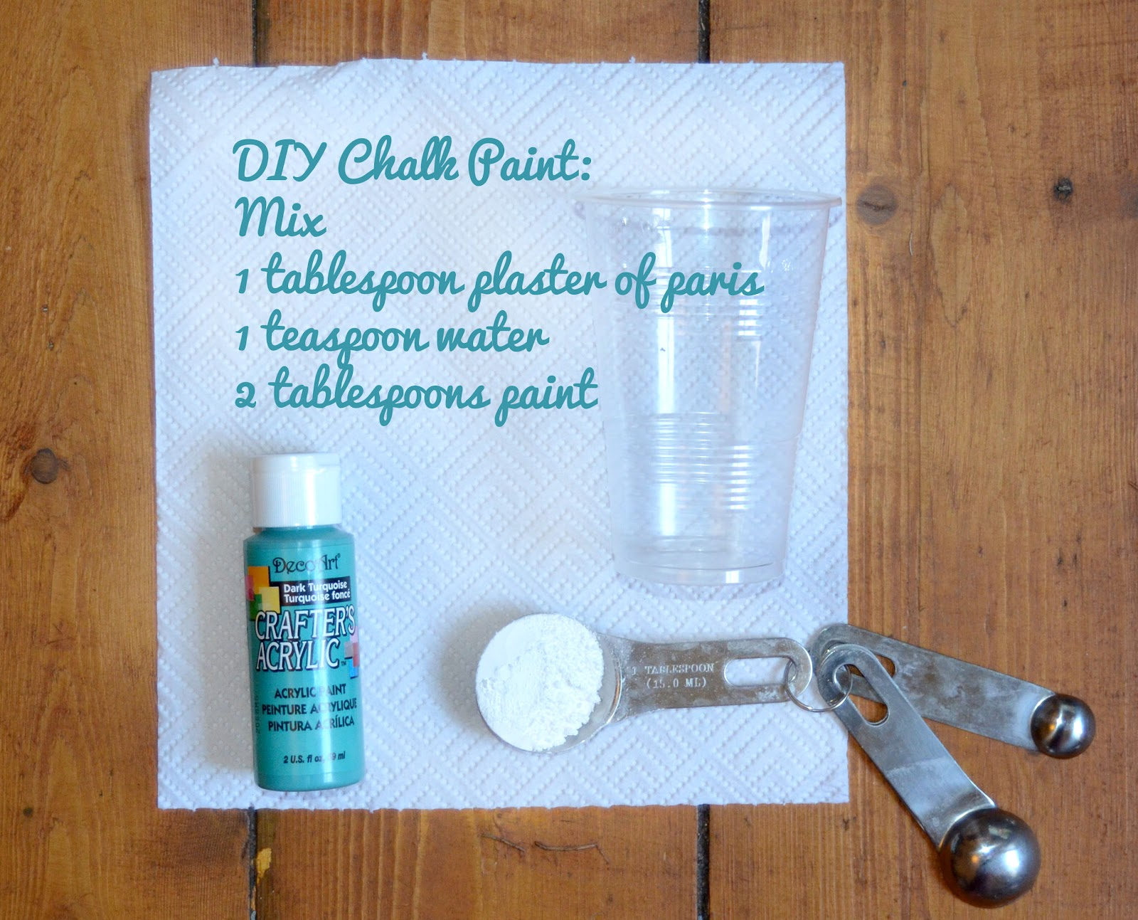 Vivid please diy how to make chalk paint for Diy paint