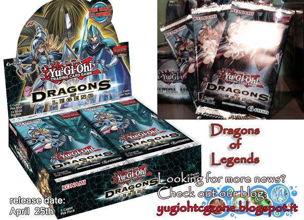 Spoiler Dragons of Legends - Card List Dragons of Legend