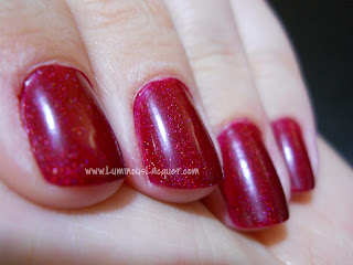 Pretty & Polished - Happy Holodays Ruby