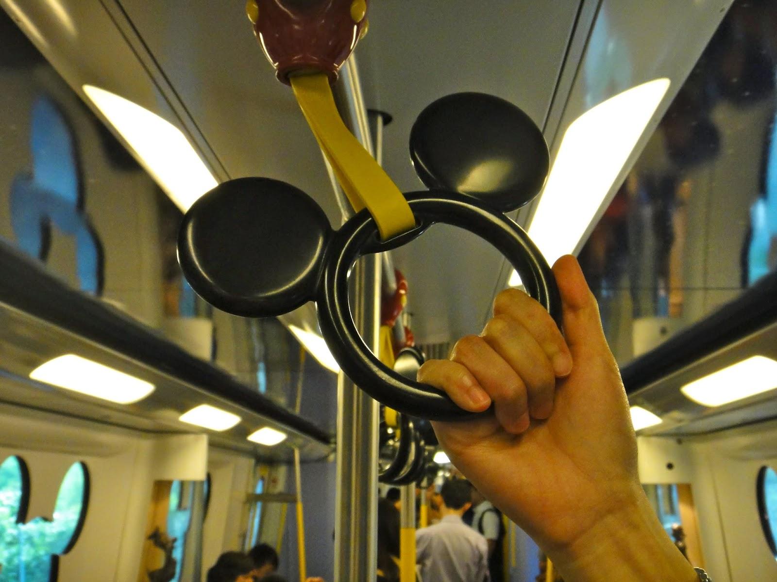 Hong Kong Disneyland Train from Sunny Bay Station