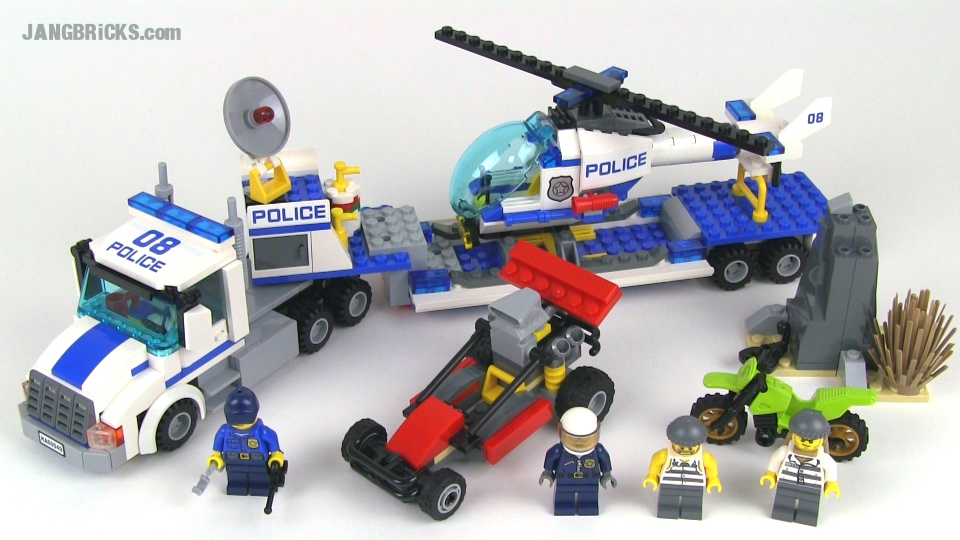 lego city helicopter transporter instructions
