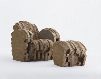 Mother in law dec muebles de cart n - Muebles de carton ...