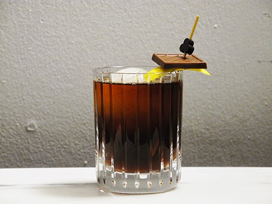 Gastronomista Wonka Vision - A Spicy Chocolate Old Fashioned