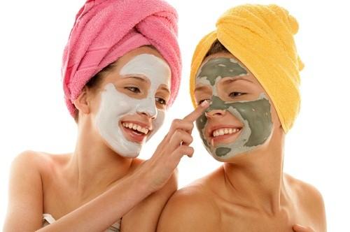 maschera viso purificante