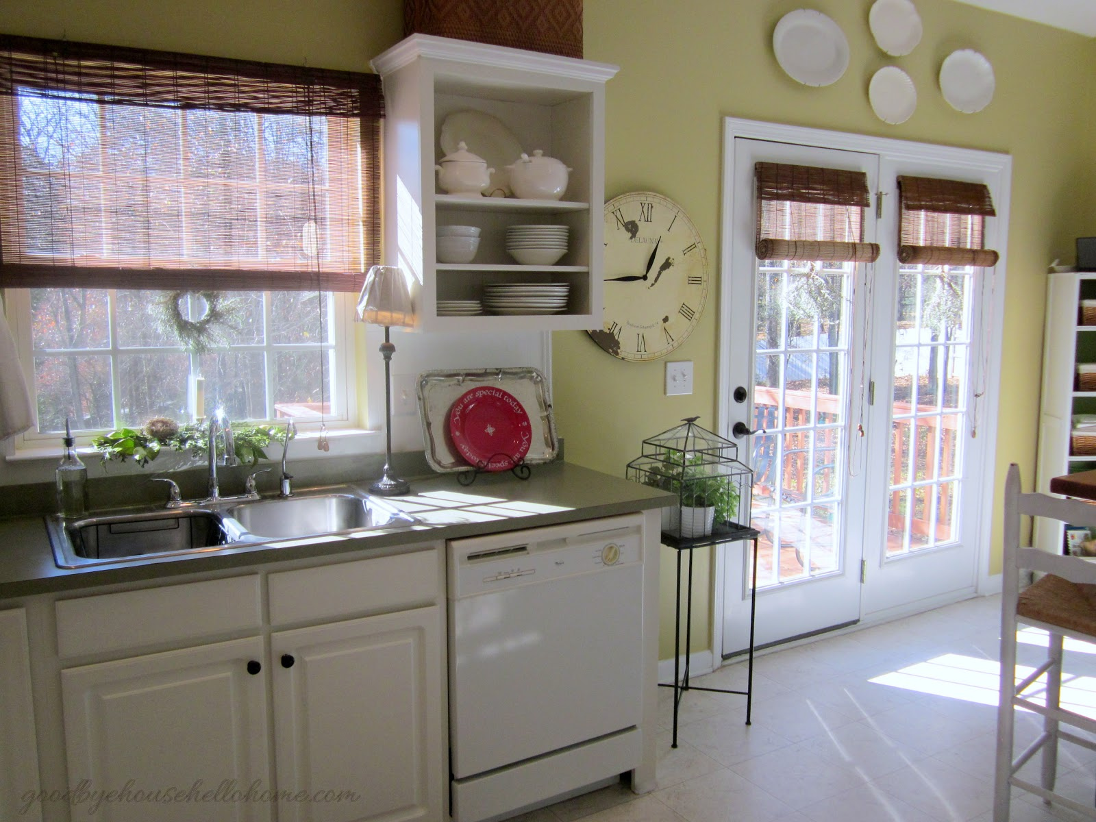 "Organized space of the week Kitchen ""The Baking Zone"""