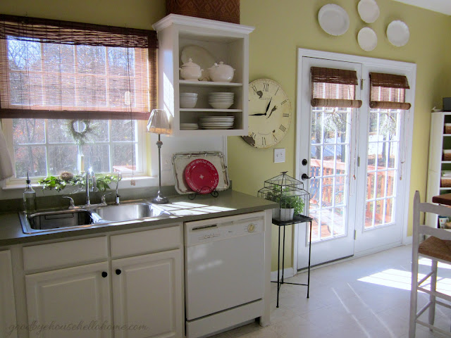 Organized space of the week kitchen the baking zone a bowl full of lemons - Kitchen patio door blinds ...