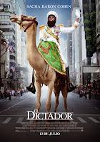 Cartel de 'El dictador' (The Dictator), dirigida por Larry Charles, con Sacha Baron Cohen. Premiere Making Of Cine