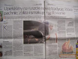 Głos Wielkopolski Mechanik w kuchni Mechanik grilluje pasja grillowania Polska Pszczyna
