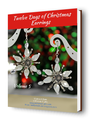Now available! - Twelve Days of Christmas Earrings Volume 5 with 12 all-new designs.