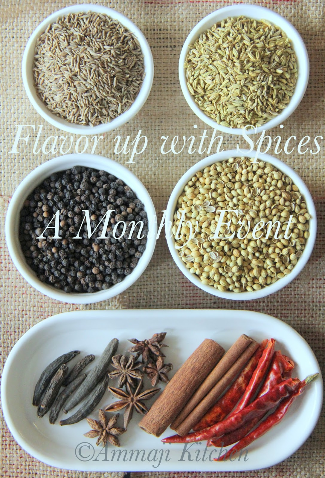 Flavor up with Spices