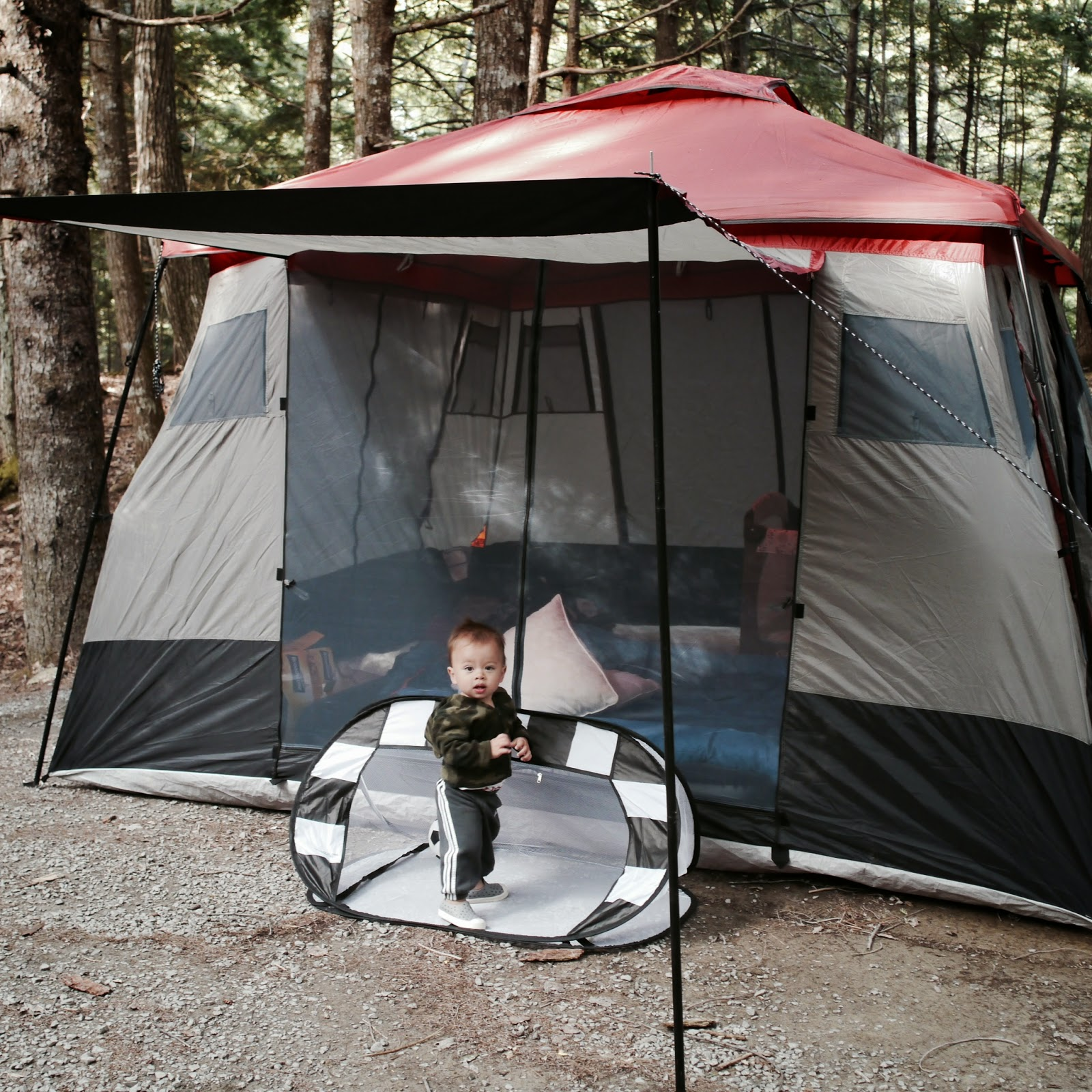 ROOKIE DAD LESSON LEARNED 106 Camping with a toddler is a lot