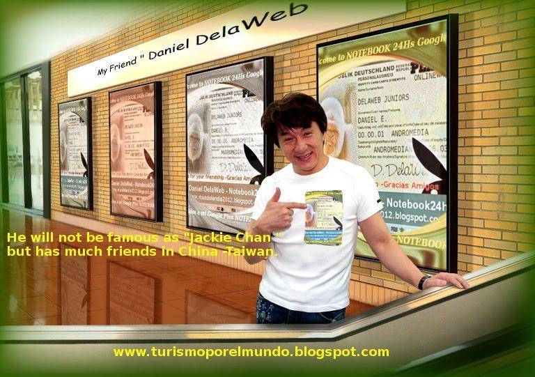 我不是著名的成龙,但我有朋友在中国大陆和台湾地区。