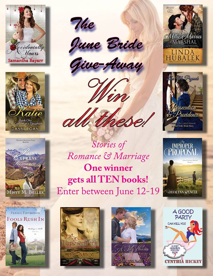 CLICK HERE to WIN all TEN BOOKS