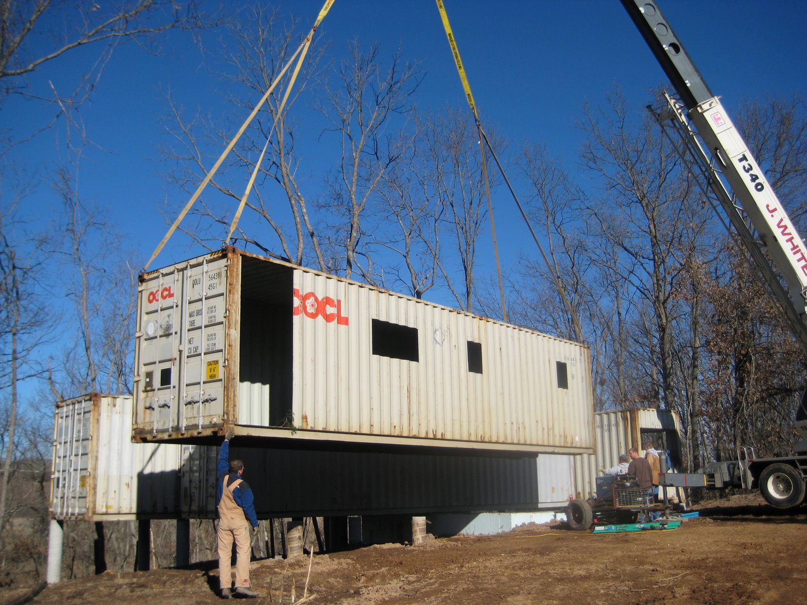 Shipping container homes may 2011 - How to make a home from shipping containers in new ...