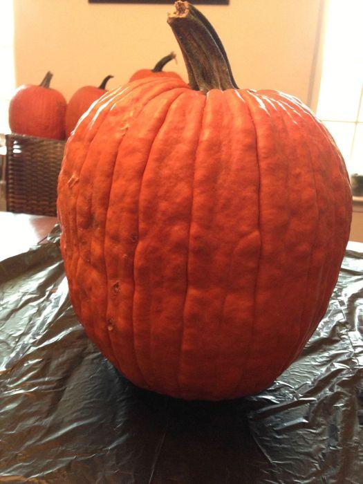Diy fright night pumpkin this halloween damn cool pictures