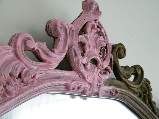 Maison Decor Pretty Pink Mirror