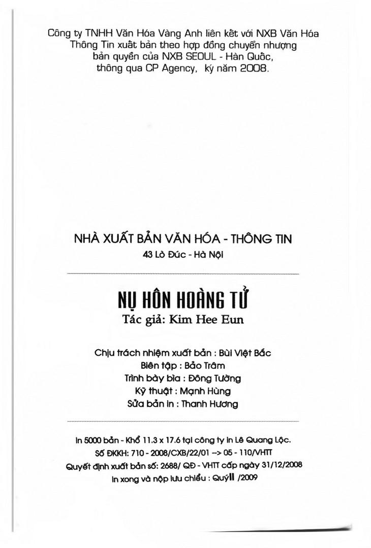 A Kiss For My Prince - Nụ Hôn Hoàng Tử Chapter 10 - Trang 35