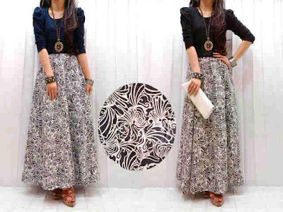 Maxi Dress Denim Kode 177