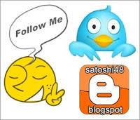 tombol follow twitter untuk blog