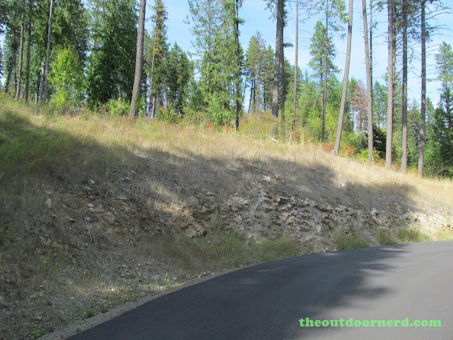 Outlet Campgrounds At Priest Lake, Idaho: Interesting Rock Formations