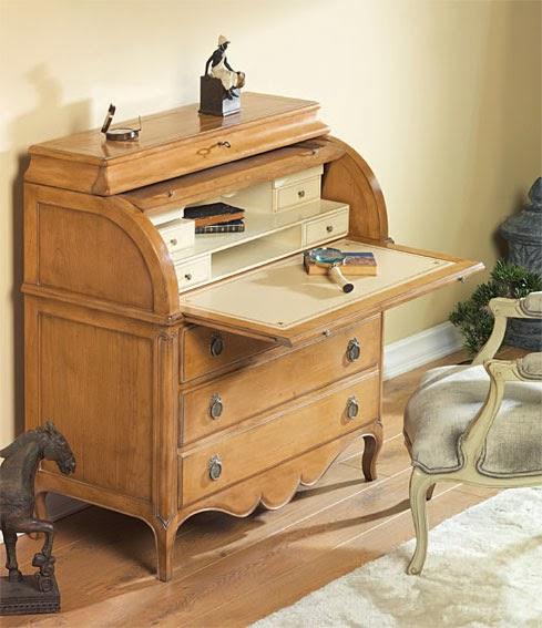 Un toque vintage el secreter un mueble con siglos de historia - Mueble secreter ...