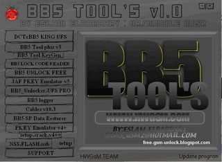 Unlock nokia sl3 BB5 Tools v1.0