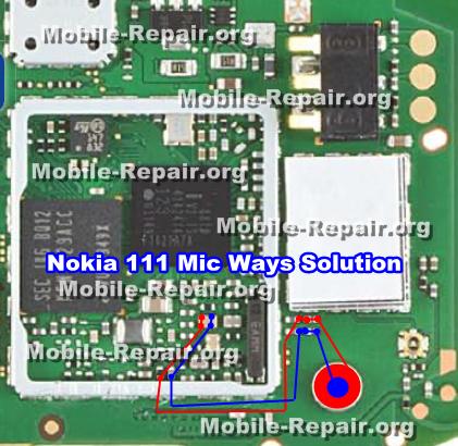 Nokia 111 Mic Ways Problem Repair solution - Mobile-Repair