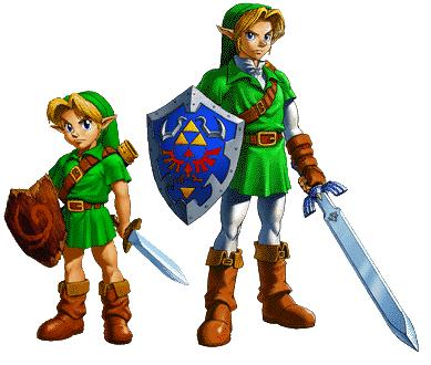 [Análise] The Legend of Zelda: Ocarina of Time Link_ocarina_of_time