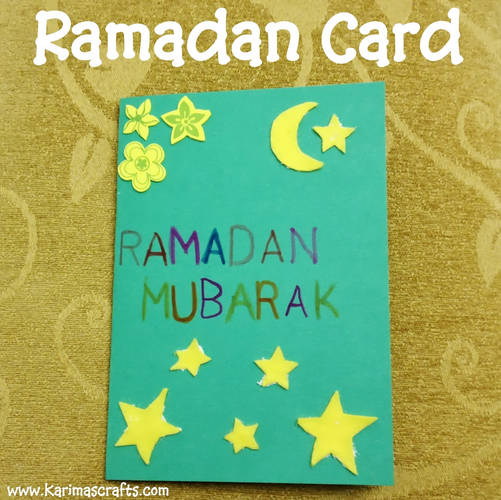 Ramadan and eid cards ramadan crafts