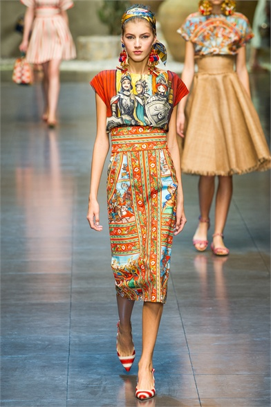 Dolce & Gabbana Spring/Summer 2013 - Full Runway Collection