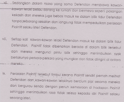 in the affidavit posted by the benchmark blog here it revealed this fella has some weird sex practices we highlight below