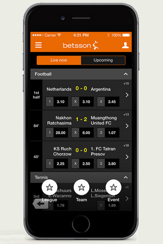 Betsson Mobile Offers