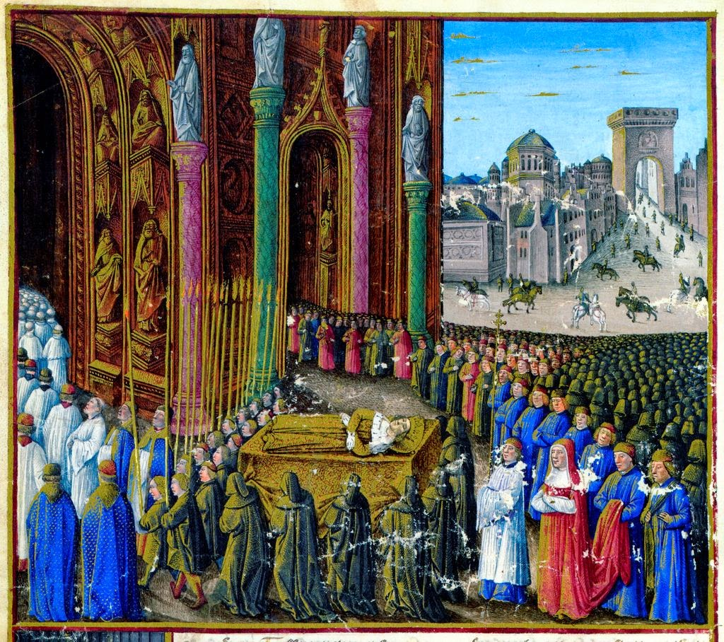 Enterro de Balduino I.