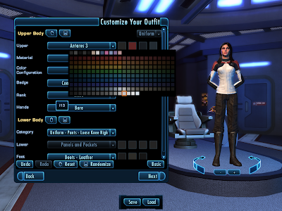 Star Trek Online - Customize Outfit Advanced