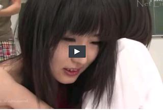 two japanese schoolgirl gangbang sex
