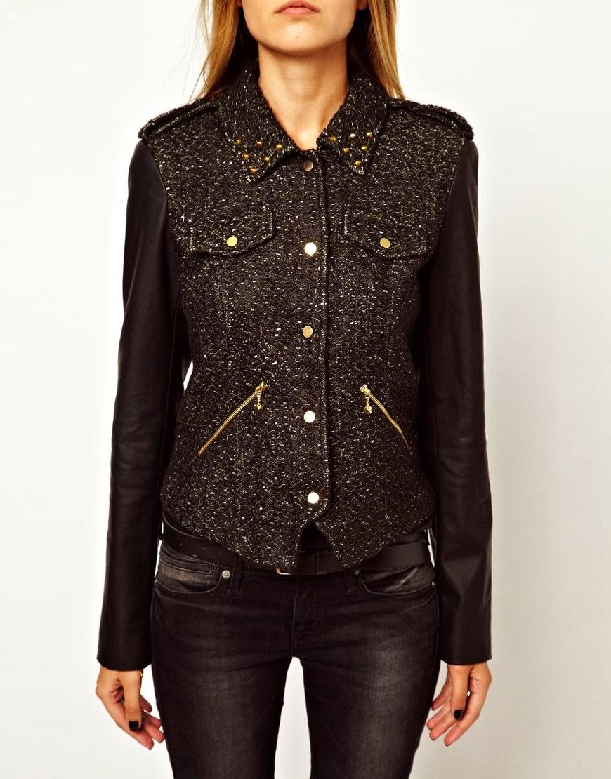 http://www.asos.com/Vero-Moda/Vero-Moda-Boucle-Biker-Jacket-With-Leather-Look-Sleeve/Prod/pgeproduct.aspx?iid=3286116&cid=2110&Rf-800=-1,36&sh=0&pge=1&pgesize=36&sort=-1&clr=Black