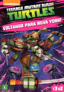 Teenage Mutant Ninja Turtles: Voltando Para Nova York! – Dublado
