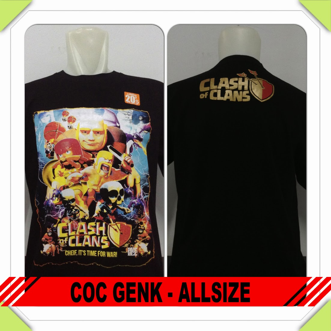Baju COC ALL Genk