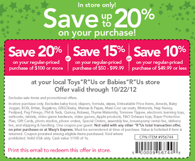 Toysrus coupons in store