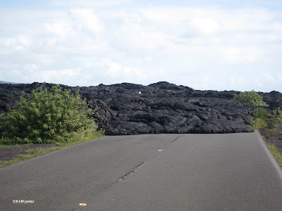 lava blocking road